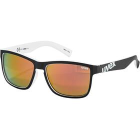 UVEX LGL 39 Occhiali, nero/bianco